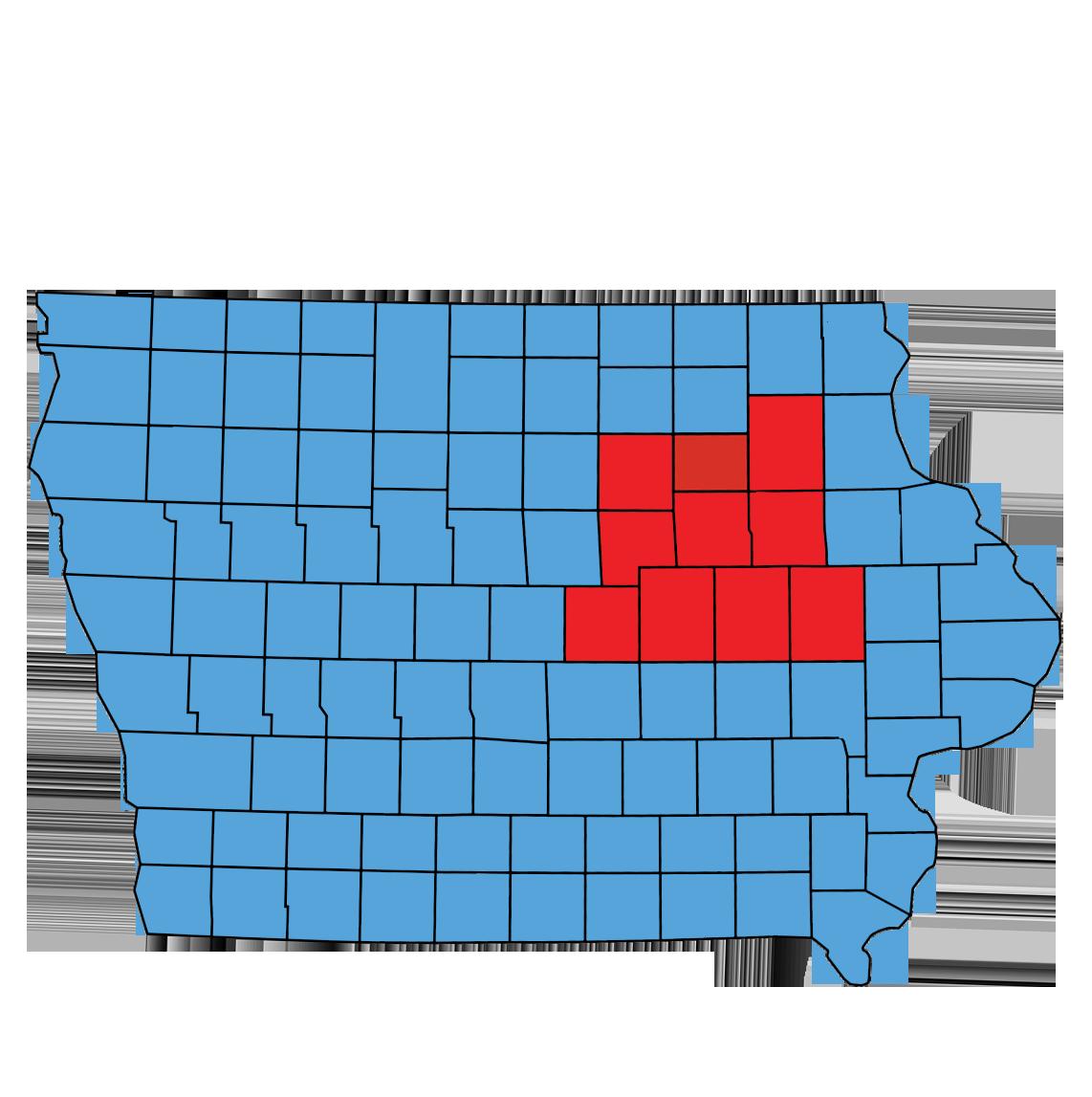 Aquire Restoration Iowa Service Areas